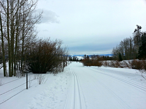 LatigoRanch offers 60 km of groomed trails