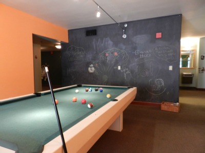 pool table resize