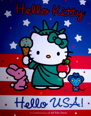 Hello kitty hello 50 states book