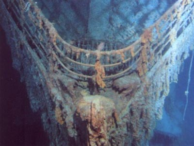 Voyage Down to the Wreck Site of the Titanic