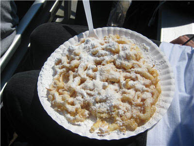Funnel Cake means Family Friendly