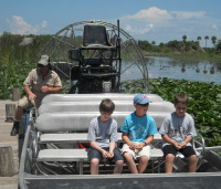 Billie Swamp Airboat Ft. Lauderdale