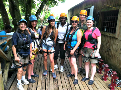 St. Kitts Ziplining