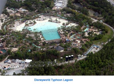 disneyworld typhoon lagoon theme park orlando