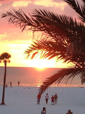 Clearwater Beach, Florida, view from the Hyatt