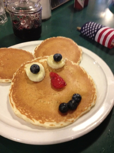 Pancakes at The Shack Cafe, Steamboat Springs