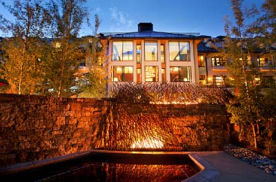Vail Cascade hot tub