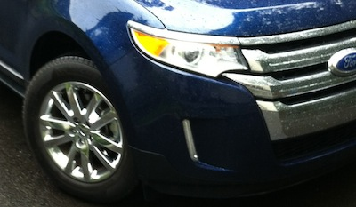 Ford Edge Wheel closeup