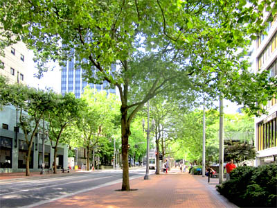 Portland-Oregon-downtown-city-sidewalk