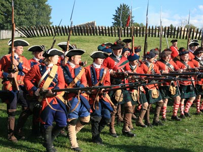Fort Ligonier reenactment