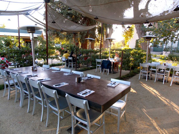 Farmstead Restaurant outdoor seating