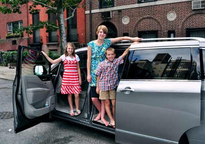 goodncrazy Nissan Quest Trip with kids