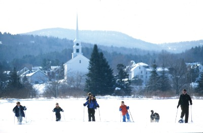 snow shoe in stowe vermont