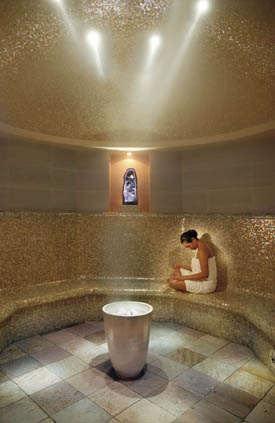 Amethyst Crystal Steam Room 2