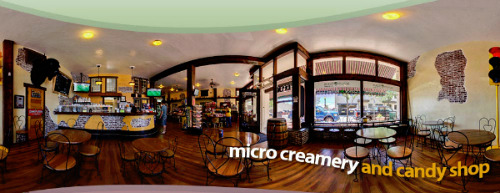 A 360 degree view of sweet Arvada candy store, Scrumptious