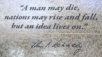 A man may die quote