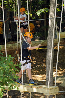 Massanutten Kid's Zip Line and Canopy Tour