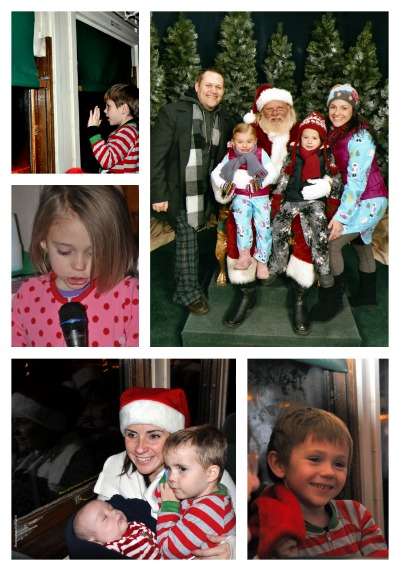 Polar Express Collage